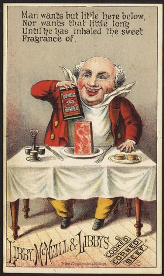 free-vintage-color-illustration-of-corned-beef-image-1