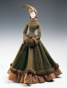 """1867 Doll"" by Jacques Fath, The Met."