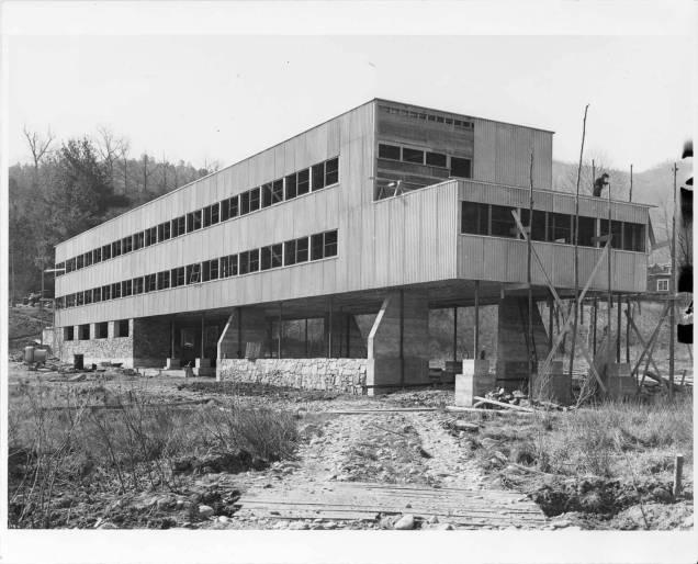 Studies_Building_construction_Lake_Eden_campus_Black_Mountain_College_19401941