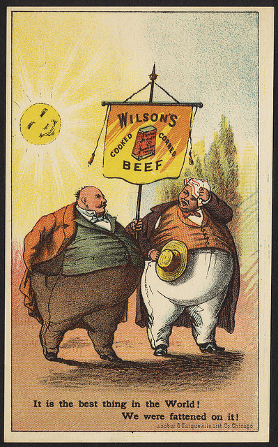 vintage_trading_cards_wilsons_cooked_corned_beef