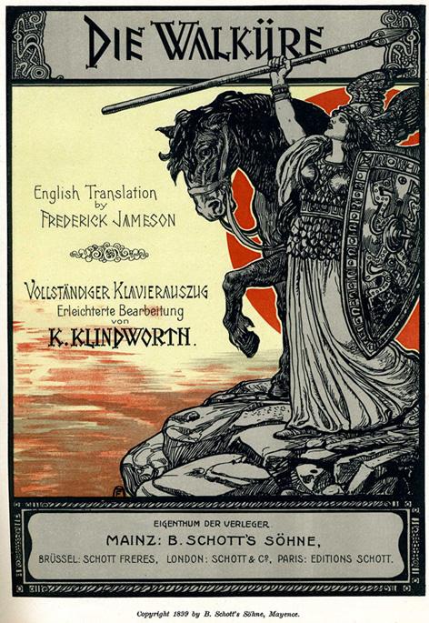 Schott's_1899_Walkure_title