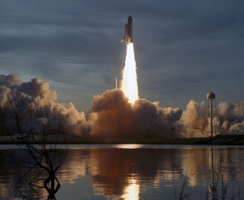 STS-48 DISCOVERY LAUNCH. 9/13/91